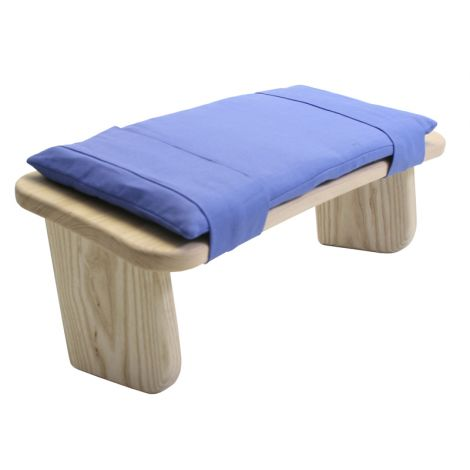 Cushion for Meditation Stool Cornflower Blue