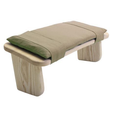 Cushion for Meditation Stool Hessian