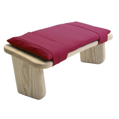 Cushion for Meditation Stool Tibetan Maroon