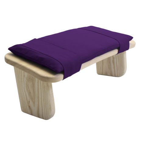 Cushion for Meditation Stool Violet