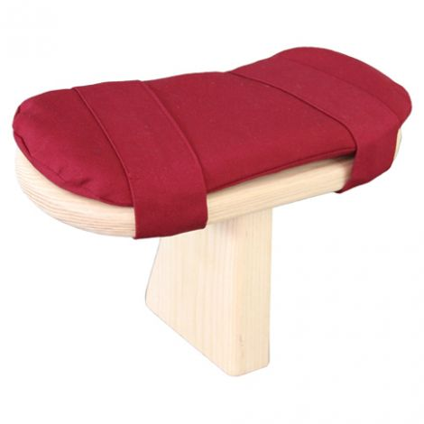 Cushion for Meditation Toadstool Tibetan Maroon
