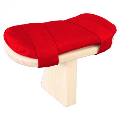 Cushion for Meditation Toadstool Chinese Red