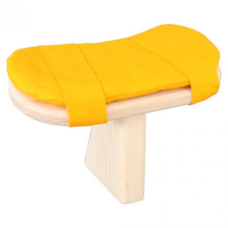 Cushion for Meditation Toadstool Saffron